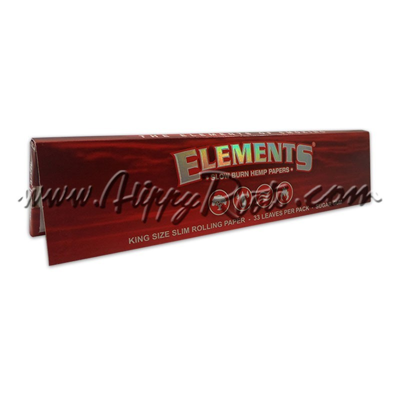 Mortalhas Elements Red King Size Slim