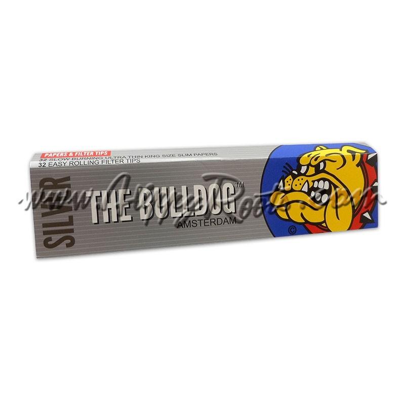 Mortalhas Bulldog Amsterdam Silver e Filtros