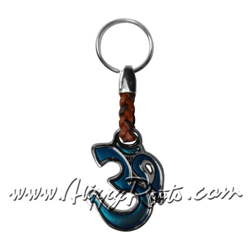 Porta-chaves Om Turquesa
