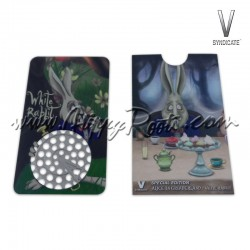 Grinder Card V- Syndicate Coelho Branco