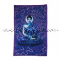 Pano Indiano Buda Azul