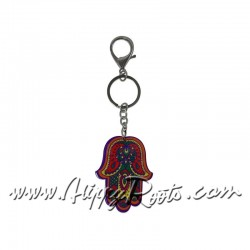 Porta-chaves Hamsa Vermelho