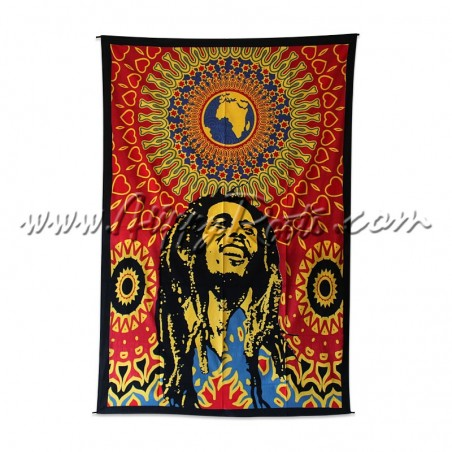 Pano Decorativo Bob Marley One World