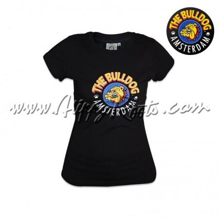 T-shirt Bulldog Amsterdam Mulher