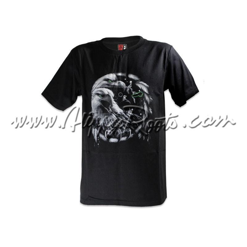 T-shirt Brilha No Escuro Aguia