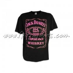 T-shirt Jack Daniels Rosa