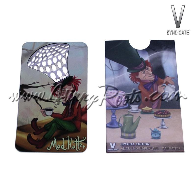 V Card Grinder Chapeleiro Maluco