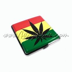 Cigarreira Cannabis Cores Rasta