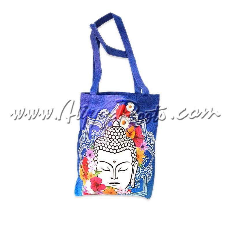 Bolsa Buda Mandala e Flores