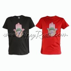 T-shirt Hamsa Árvore da Vida