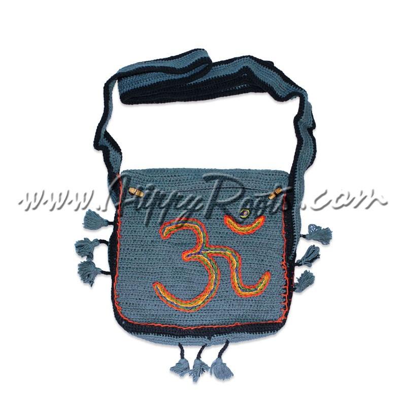 Bolsa Tiracolo Om Crochet