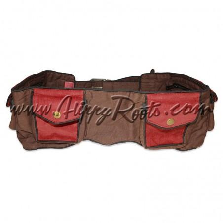 Bolsa Cintura Multibolsos Fivela