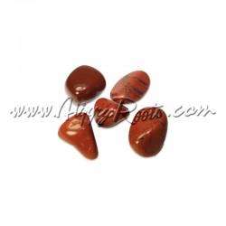 Pedra Jaspe Vermelho Rolada