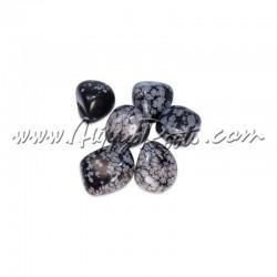 Pedra Cristal Obsidiana Nevada Rolada