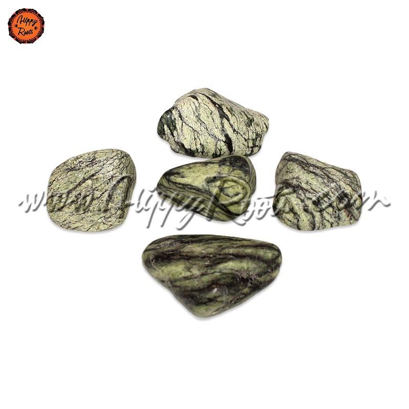 Pedra Serpentina Rolada