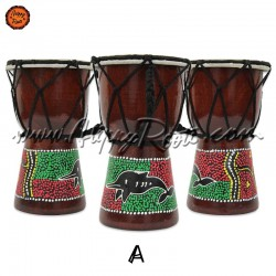 Mini Djembé Tradicional Africano 15 cm
