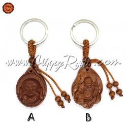 Porta-chaves Artesanal Buda