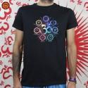 T-shirt Om 7 Chakras