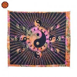 Pano Decorativo Yin Yang  Psicadelico Grande