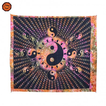 Pano Decorativo Yin Yang Psicadélico Grande