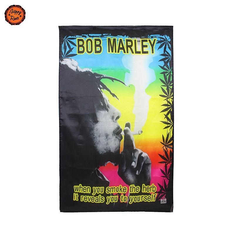 Bandeira Bob Marley Quando Fumas Erva