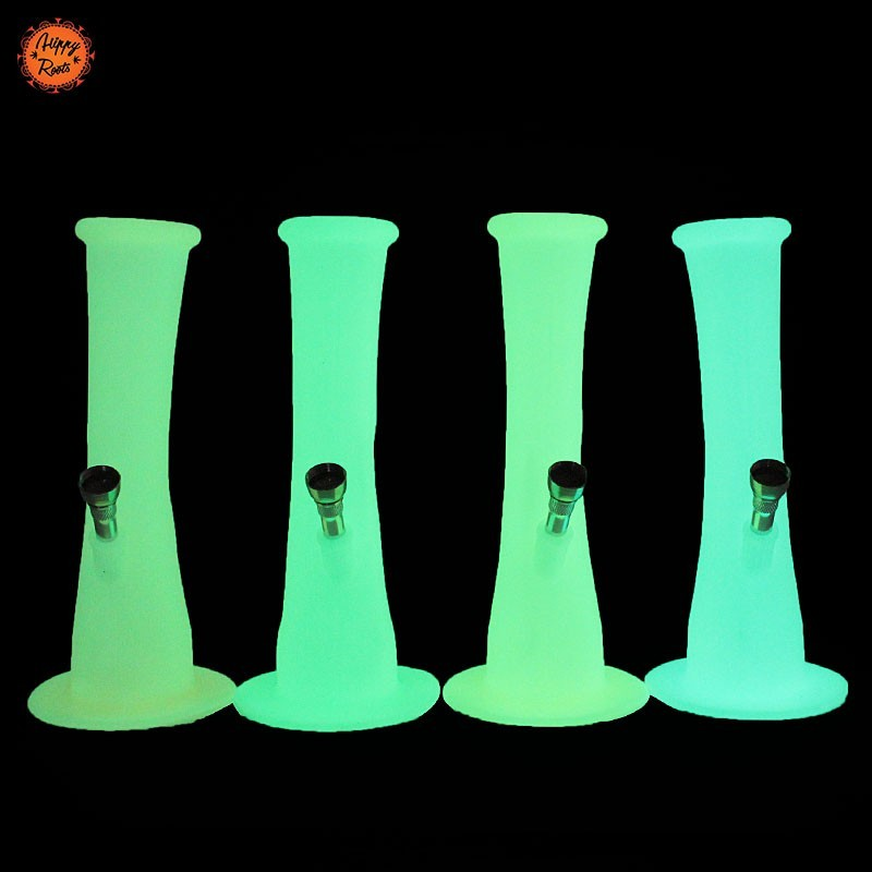 Silicone Bong Glow In The Dark