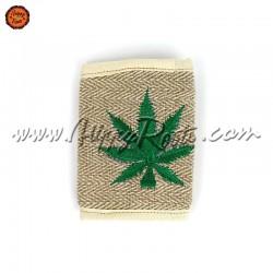 Carteira Artesanal Cânhamo Cannabis