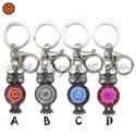 Porta-chaves Mandala Coruja