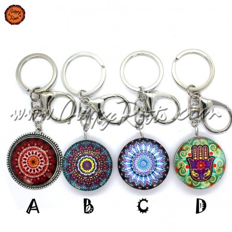 Porta-chaves Mandala
