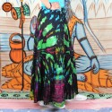 Saia Longa Hippie Tie-Dye