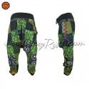 Calcas Hippie PatchWork com Bolsa
