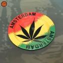 Cinzeiro Metal Amsterdam Rasta
