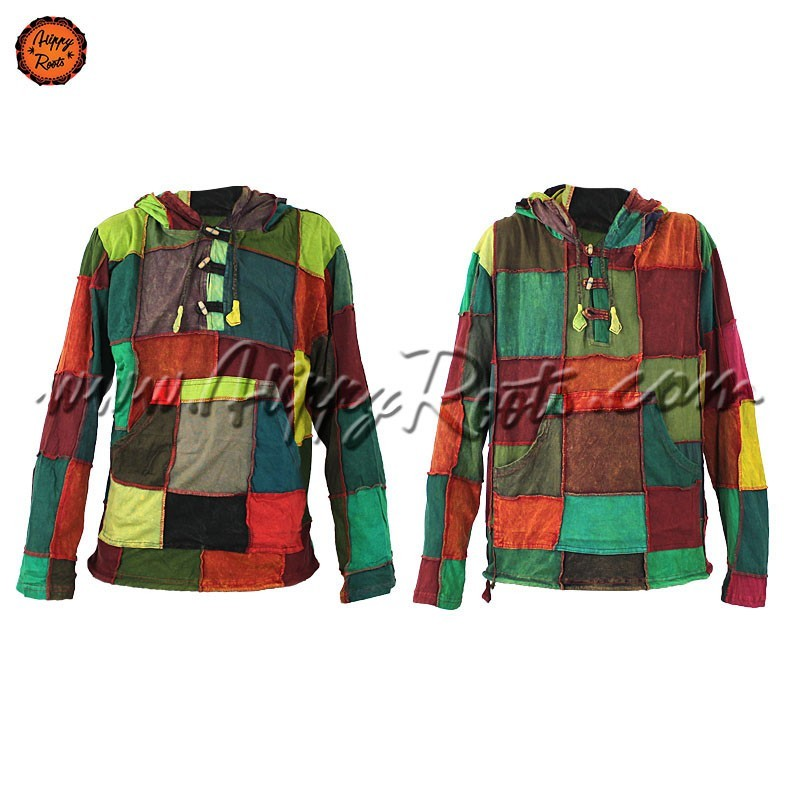 Sweat Camisola Hippie PatchWork
