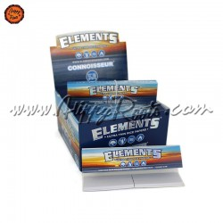 Caixa Mortalhas Elements Connoisseur King Size e Filtros