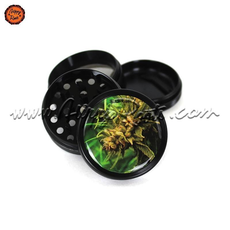 Grinder Black Leaf Weed 4 Partes