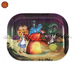Bandeja Metal Alice Forest (18x14)
