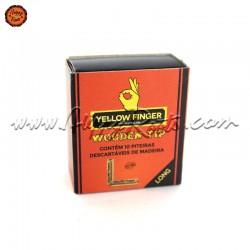 Filtros Madeira Yellow Finger Long