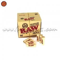 Caixa 100 Filtros Pré-enrolados RAW Cone Perfecto