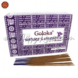 Caixa Incenso Goloka Lavanda Nature