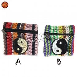 Porta-moedas Artesanal Yin Yang