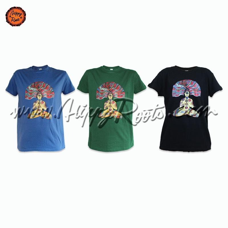 T-shirt Meditacao 7 Chakras