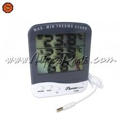 Termohigrometro Digital c/Sonda TA388