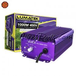 Balastro Lumatek Pro 1000w 400v Controlavel  com Potenciometro