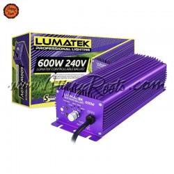 Balastro Lumatek 600w Controlavel com Potenciometro