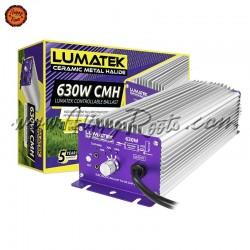 Balastro Lumatek 630W DE CMH Controlavel com Potenciometro