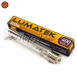 Lâmpada Lumatek HPS Ultimate Pro 600W 400V Dual Spectrum