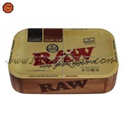 Caixa Cache Madeira RAW c/ Tabuleiro