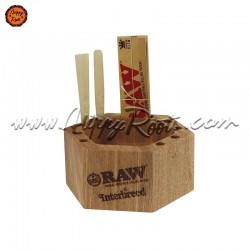 Cinzeiro Madeira Bambu RAW x Interbreed