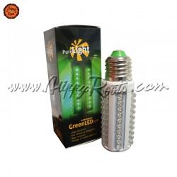 Lâmpada Noturna Pure Light LED Verde 3,5W