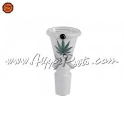 Caldeira Black Leaf Vidro Conica Fosco